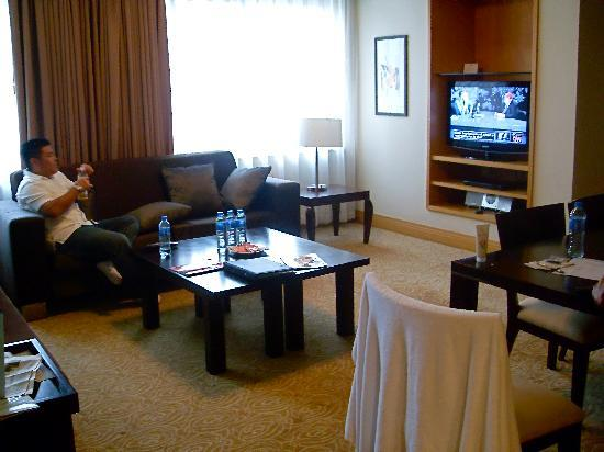 Ascott Beijing: 2 bedroom suite - living room