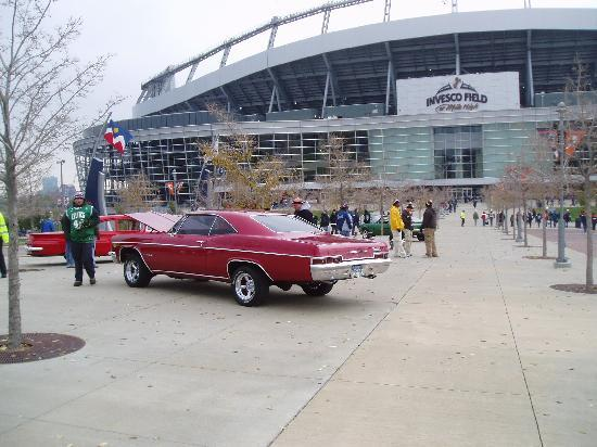 Classic Car Show On West Side Of Stadium Picture Of Sports - Classic car show denver