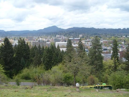 Campus Inn & Suites, Eugene Downtown: view from Spencer Butte