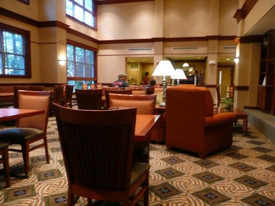 Hampton Inn & Suites North Conway: Frühstücksraum