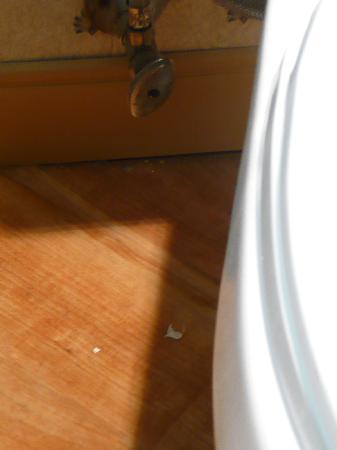 La Quinta Inn & Suites South Burlington: Schmutz im Bad