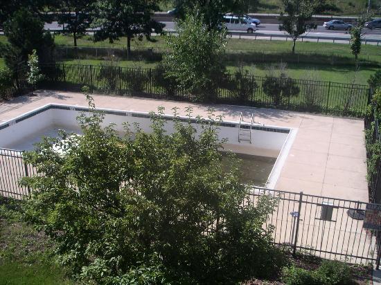 Chicago O'Hare Garden Hotel: nice pool - no deep end!