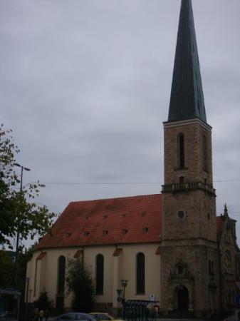 Χάγκεν, Γερμανία: the oldest church in Hagen and the center of the city