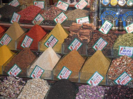 Istanbul Amedros Home: Olores, colores, sabores...