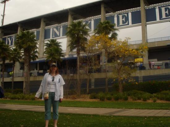 George M. Steinbrenner Field: Me at Legends field