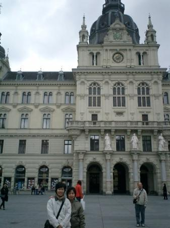 Rathaus : Town Hall of Graz, the second-largest city in Austria after Vienna.