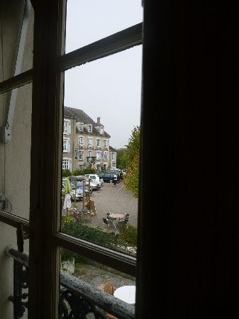 Le Relais du Morvan : view from room window