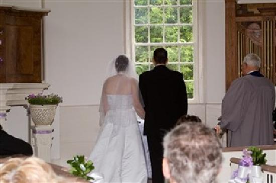Old Round Church Wedding