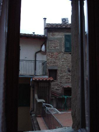 Hotel Italia: View from Room 27