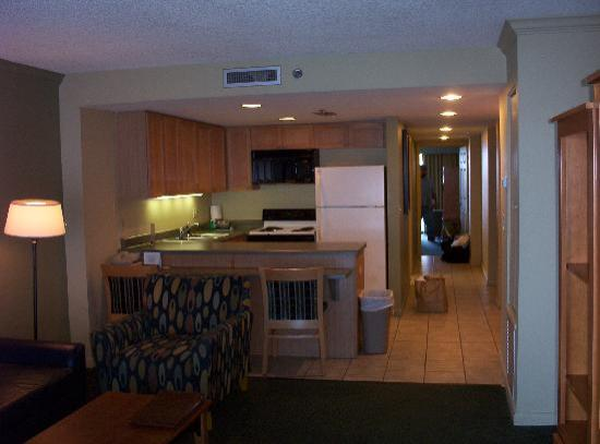 Daytona Beach Regency Inside Room Pic Taken From Standing In Living Facing Bedroom