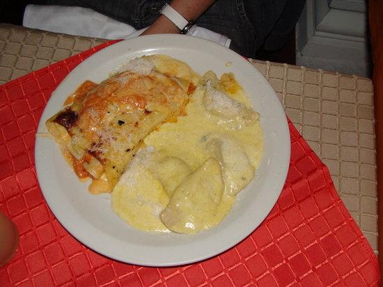 Crispino Pizza y Pasta: Un plato combinado a pedido