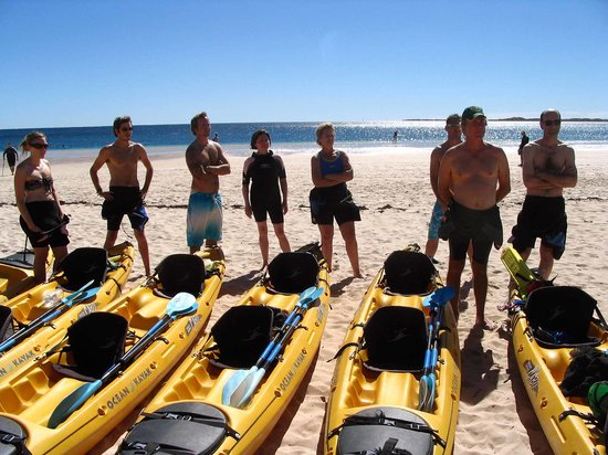 Ningaloo Kayak Adventures: Shore side