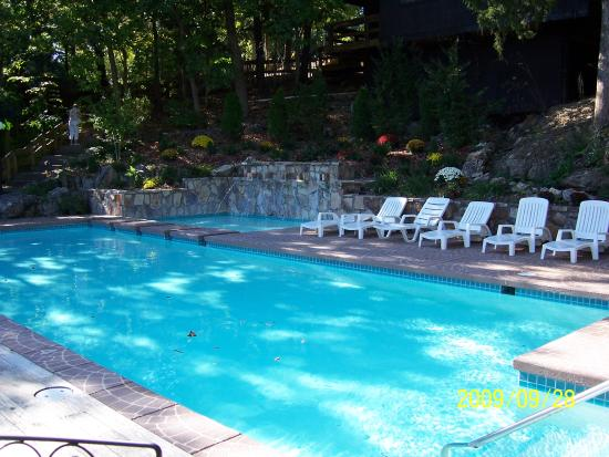 One of the pools at Treetop Village