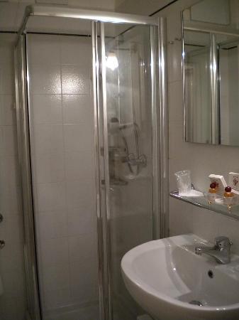 Hotel San Zulian: bathroom