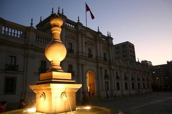 Palacio de La Moneda. Santiago