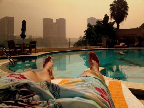 Hilton Cairo Zamalek Residences: Это, короче, мы прилетели на сессию стратегического планирования
