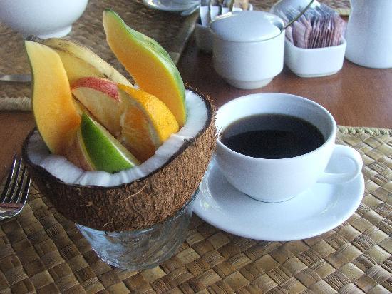 Sinalei Reef Resort & Spa: Breakfast - first course!