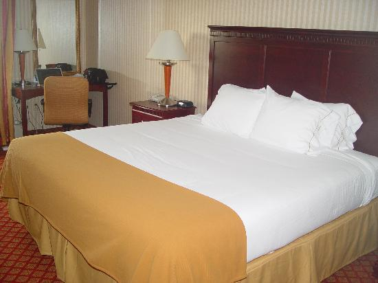 ‪‪Holiday Inn Express - Wixom‬: King Size Bed w/ Soft or Firm Pillows‬