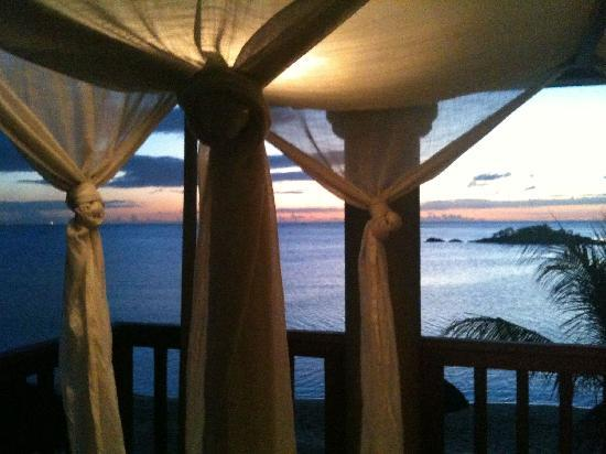 Club Med La Pointe aux Canonniers: View from Suite at Night