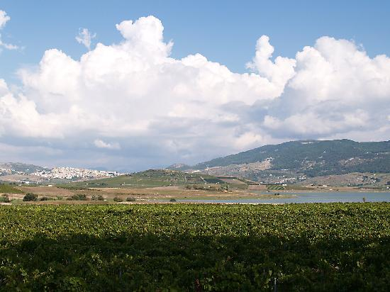 Lago Arancio, about 8 km northeast of Menfi (with Sambuca di Sicilia)