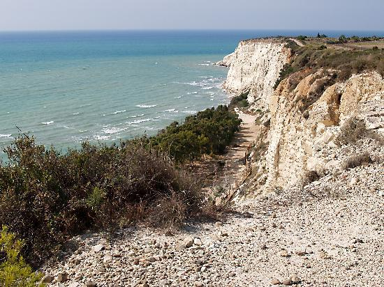 Agrigento, Italy: Cliffs at Eraclea Minoa