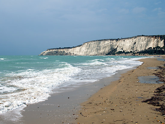 Agrigento, Italy: Eraclea Minoa: the beach