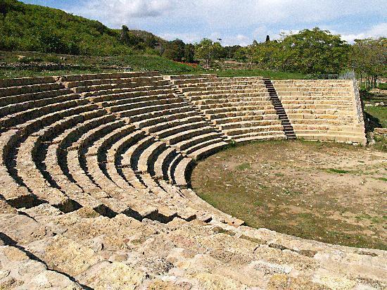 morgantina  Morgantina: the theatre - Foto di Aidone, Provincia di Enna ...