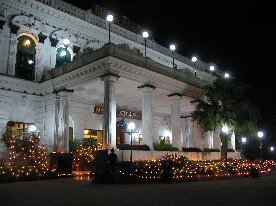 Hotel Shanker: The entrance during Tihar festival