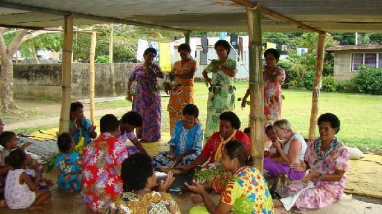 Ovalau Island, Figi: Meke