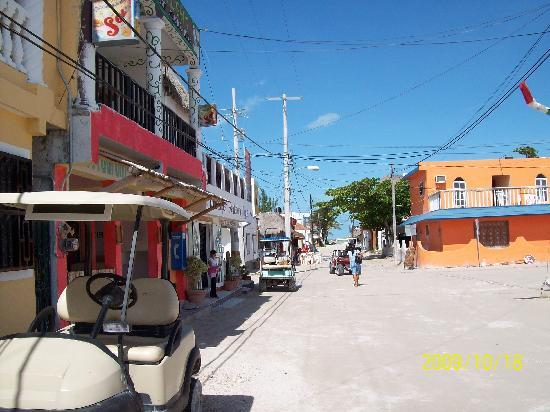 Beachfront La Palapa Hotel Adult Oriented: Nice little town