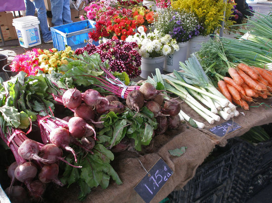 Oregon City Farmers Market: A colorful selection at the OC Farmers Market.