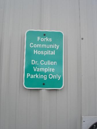 Forks, WA: toujours accroché aux murs de l'hopital