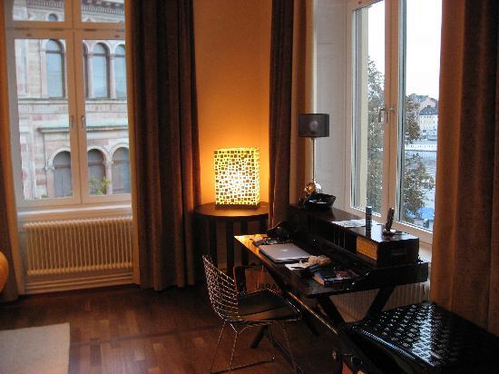 Lydmar Hotel : Living Room