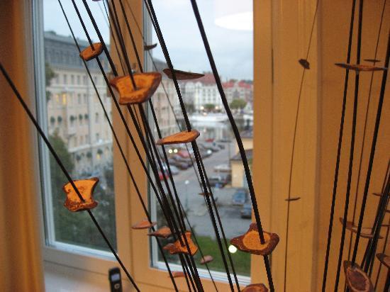 "Lydmar Hotel : Bedroom Window with ""twigs"""