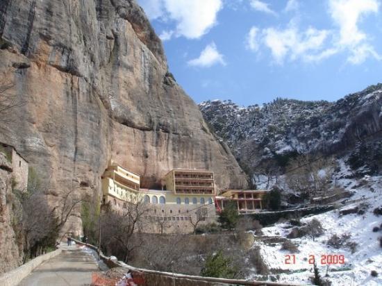 Kalavrita, Grecia: Καλάβρυτα, Mega Spileo Monastery