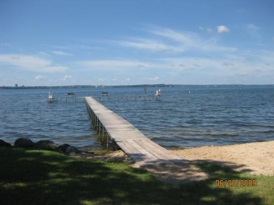 Lake Mendota Maple Bluff Beach Park