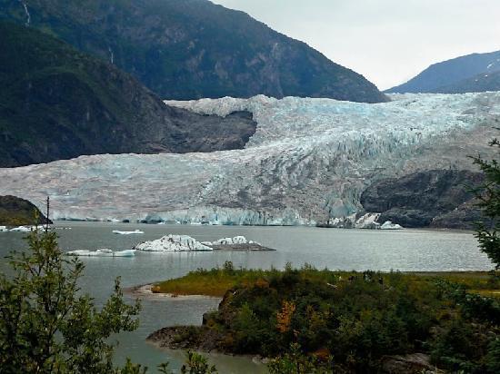 写真Mendenhall Glacier枚