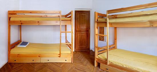 Capital Hostel: 4 bed dorm