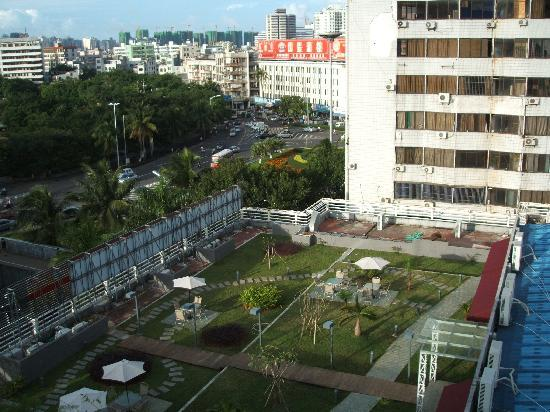 Haikou Hotel: a view from the rooms