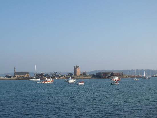 Fortifications of Vauban: Vue d'ensemble depuis le port