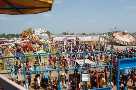 Bhuj, อินเดีย: beggest mela in kutch district nakhatrana taluka at saiyra village which held for four days 2009