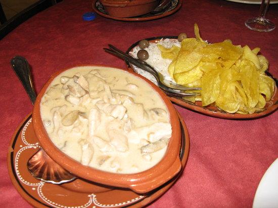 O Tabuleiro : uno dei piatti principali