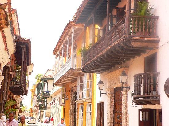 Colombia: old town Cartegena