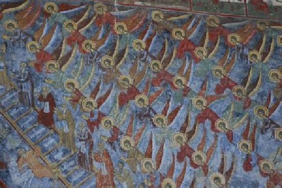 Vatra Moldovitei, Rumania: Manastirea Sucevita - fresco