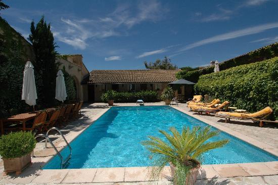 Le Mas de Mougins : piscine