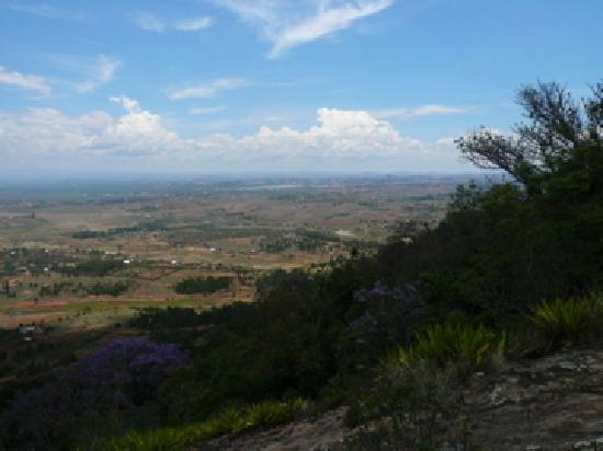 Ambohimanga: Vue du Palais