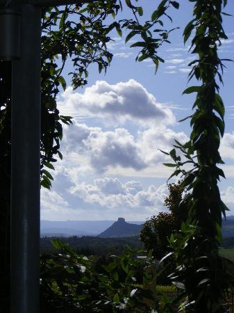 Engen, Alemania: Volcanic knob anyone ?  a view from terrace .