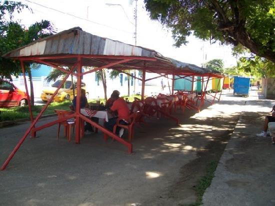 Guiria, เวเนซุเอลา: Eating Outdoors