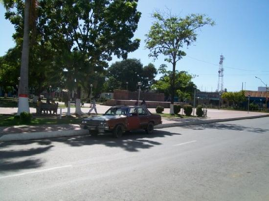 Guiria, Venezuela: Part of the Square/Park