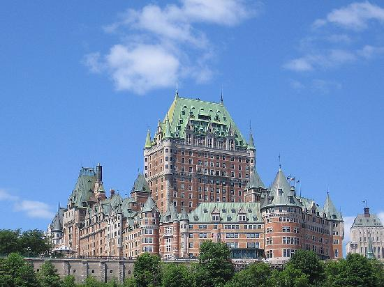 Old Quebec : Le Chateau Frontenac